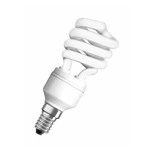 Ampoule fluocompacte mini twist 12W E14 FR