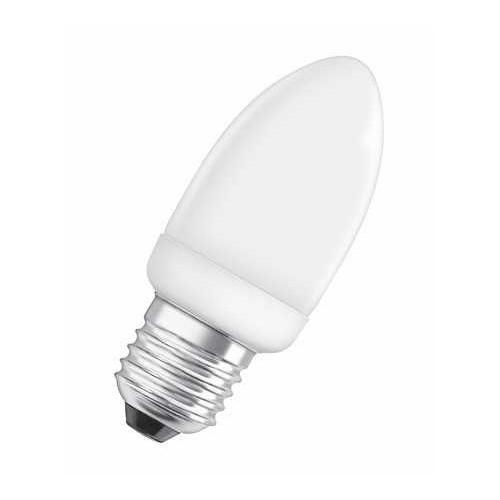 Ampoule fluocompacte PRO Flamme 6W E27 CH