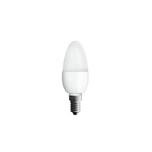 Ampoule LED Flamme 6W40 E14 dépolie blanc chaud NEOLUX
