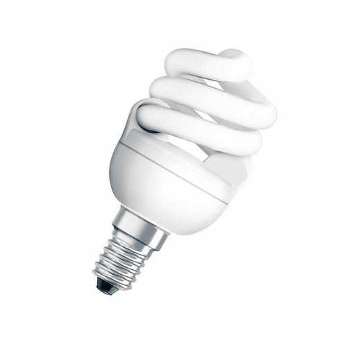 Ampoule fluocompacte PRO MicroTwist 7W E14 CH