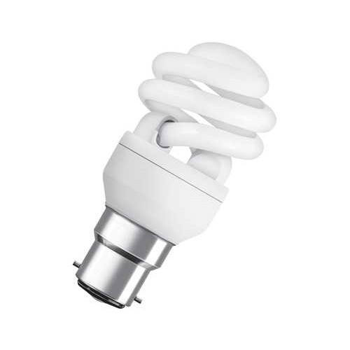 BLI1 ECO80 SUPERSTAR MICROTWIST 12W B22 BLANC CHAUD