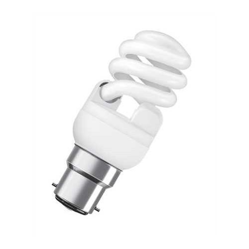 Ampoule fluocompacte mini twist 12W B22 CH