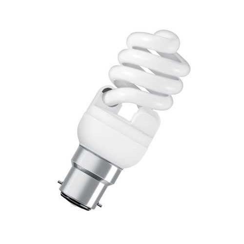 Ampoule fluocompacte mini twist 15W B22 CH