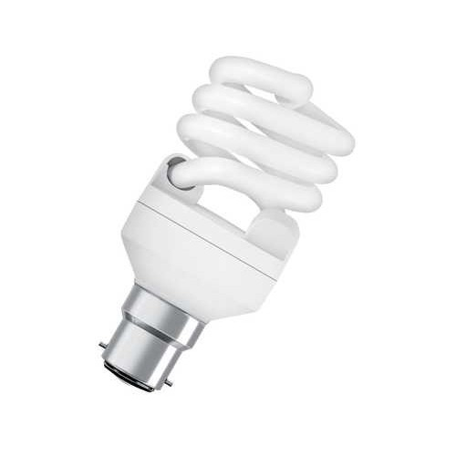 Ampoule fluocompacte mini twist 20W B22 CH