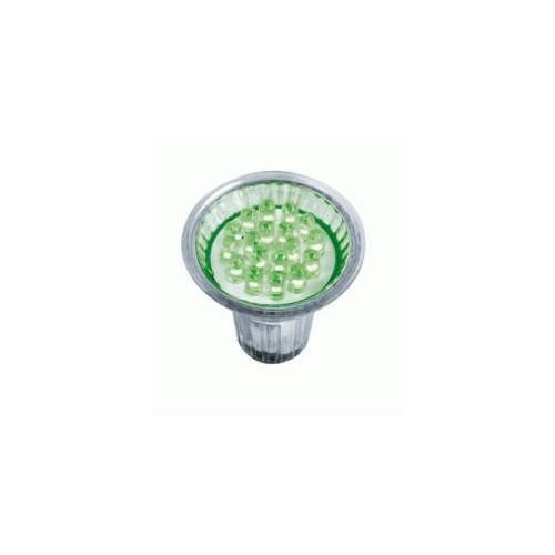 R?flecteur DECOSPOT LED PAR16 GU10 vert BLI1