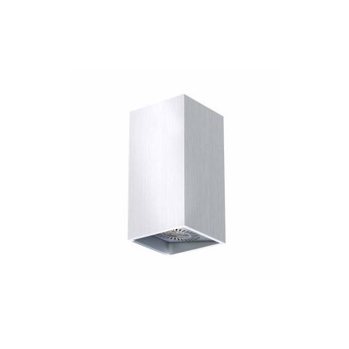 APPLIQUE MURALE LED TRESOL BLOC 2x4,5W ARGENT