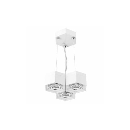 SUSPENSION LED COMBILITE TRIPLE 3X4,5W
