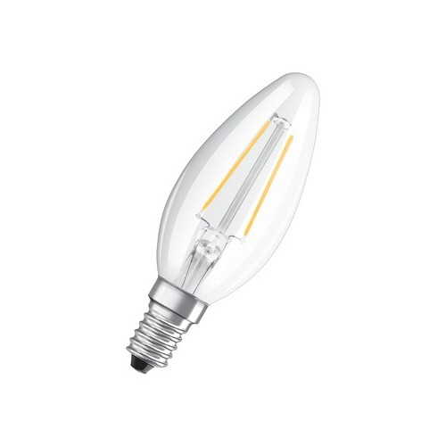 Ampoule LED FILAMENT Flamme 2W=25 E14