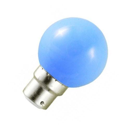 Ampoule LED 0.8W=9W B22 BLEU