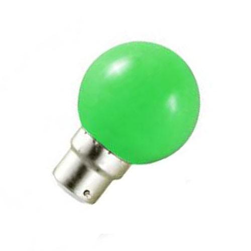 Ampoule LED 0.8W=10W B22 VERTE