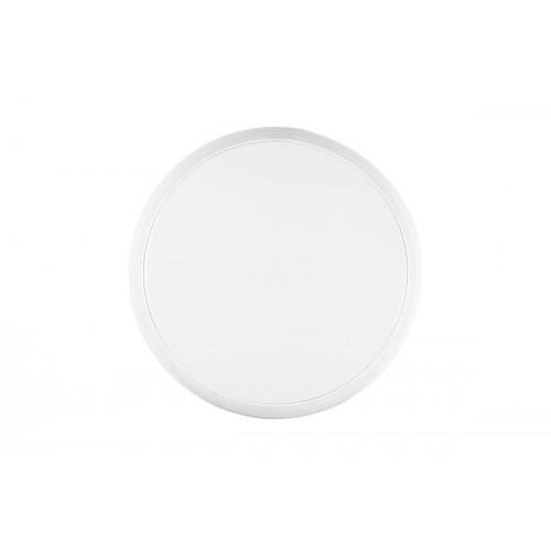 Hublot LED 24W 2100LM 4000K IP65 Blanc avec Détecteur