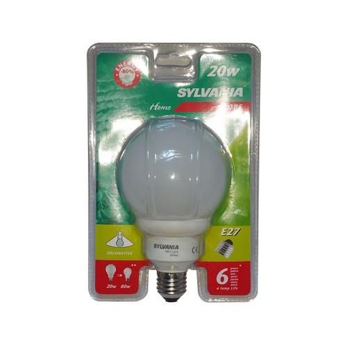 Ampoule Fluopcompacte Globe E27 20W 950LM
