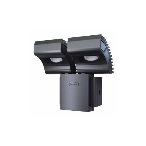 SPOT LED EXT NOXLITE 2X8W BLC FRD GRIS
