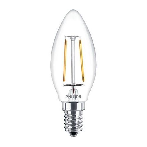 Ampoule Filament LED Candle E14 2,3W=25W 2700k