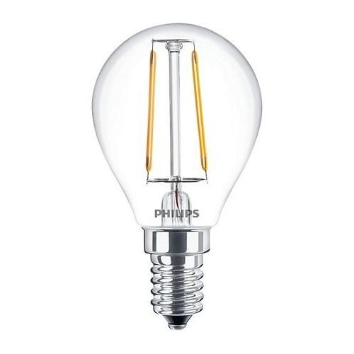 Ampoule Filament LED Luster E14 2,3W=25W 2700k Claire