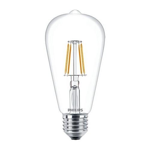 Ampoule Filament LED Edison E27 4,3W=40W 2700k Claire