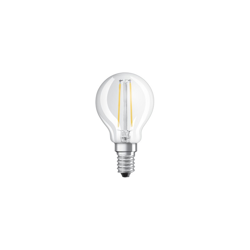 ampoule led filament sph 1 2w 15w e14 2700k. Black Bedroom Furniture Sets. Home Design Ideas