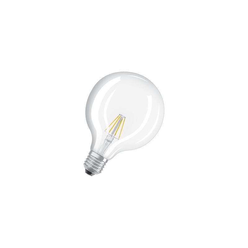 ampoule led filament globe 6w 60w e27 2700k. Black Bedroom Furniture Sets. Home Design Ideas