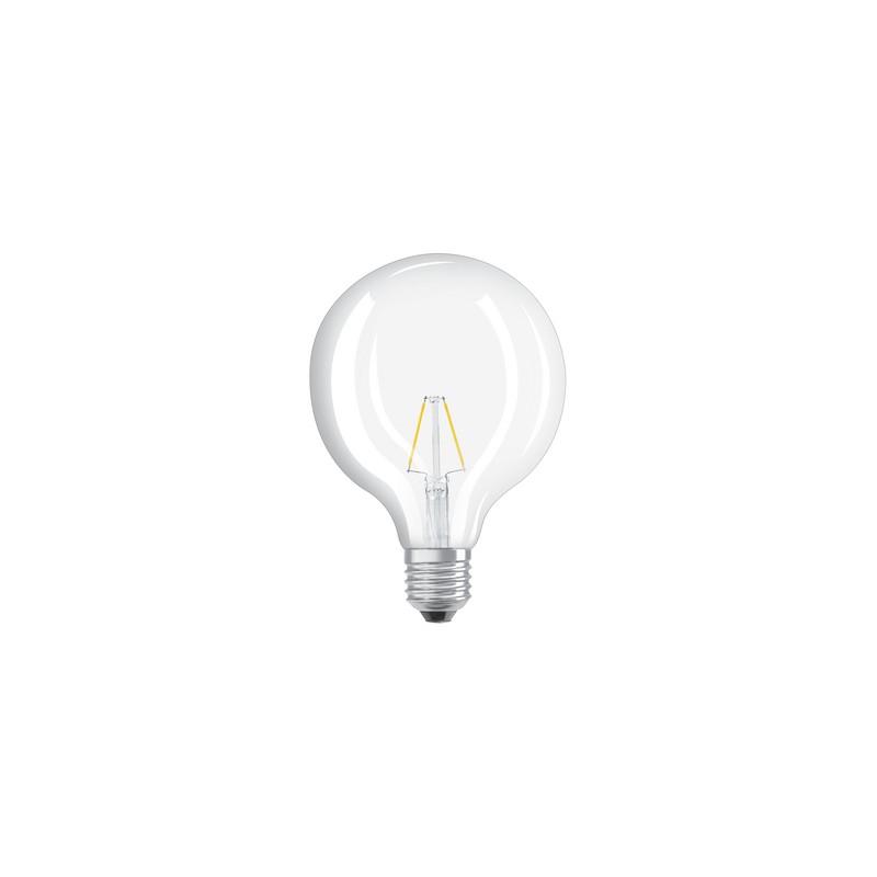 Osram Ampoule Led Retrofit Standard E27 4w 40w A: Ampoule LED FILAMENT GLOBE 4W=40W E27 2700K