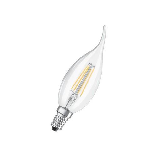 Ampoule LED FILAMENT FLAM COUP DE VENT 4W=40W E14 2700K