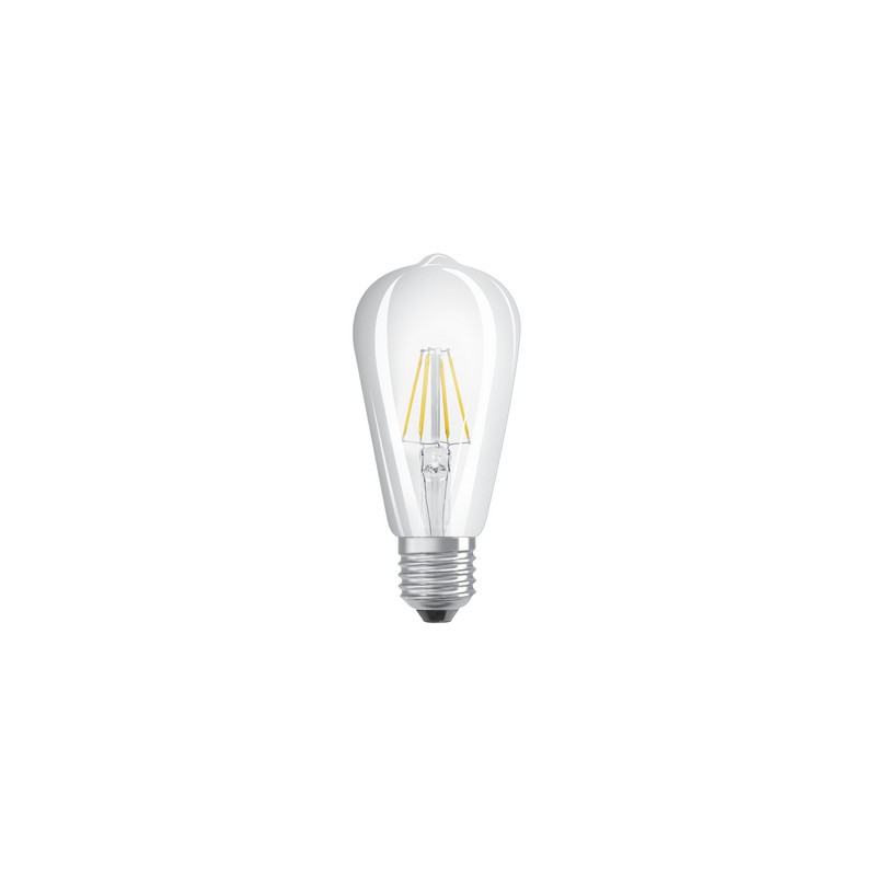 ampoule led filament edison 6w 60w e27 2700k. Black Bedroom Furniture Sets. Home Design Ideas