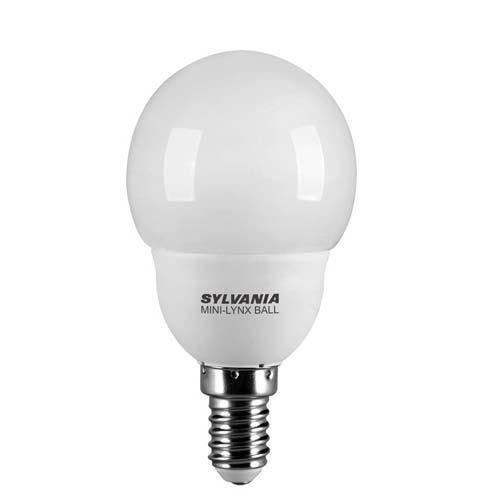 ampoule fluocompacte ml ball 2700k e14 7w slv. Black Bedroom Furniture Sets. Home Design Ideas