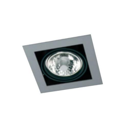 Encastre de plafond carré CDMR 111 G53 orientable Blanc