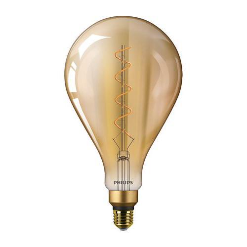 Ampoule LED Filament Standard Vintage Giant LEDbulb E27 2000K 5W=25W Ambrée
