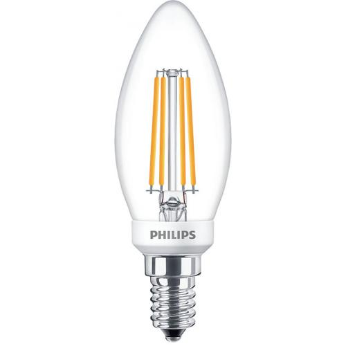 Ampoule LED Filament LEDcandle 5W=40W E14 2700K Dimmable