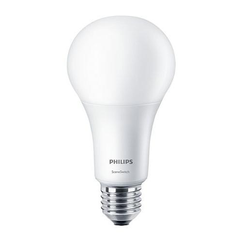 Ampoule LED SceneSwitch 3 ambiances 14W=100W E27 2700K Dépolie