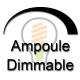 Ampoule Halogène R7s 625W 3200K 190mm Dimmable
