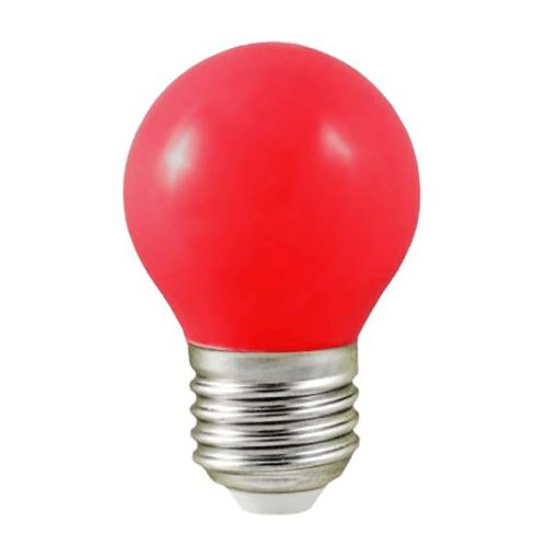 Ampoule LED E27 1W=7W Rouge