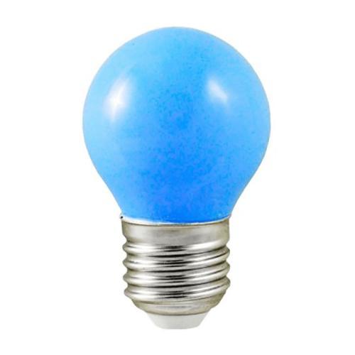 Ampoule LED E27 1W=7W Bleu