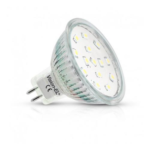 Ampoule LED GU5.3 dichroique 4W 4000K 110D | remplace 35W