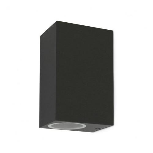 Applique Murale LED GU10 x 2 Gris Anthracite