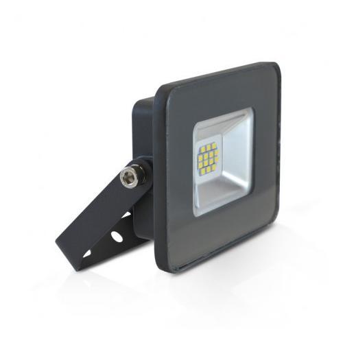Projecteur LED Plat Gris 10W 3000K IP65
