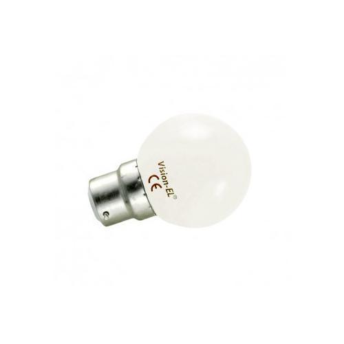 Ampoule LED B22 Bulb 1W 3000K   remplace 10W