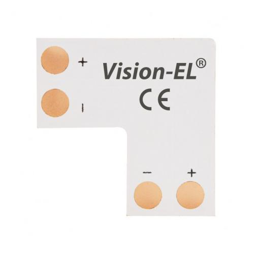 Connecteur L Bandeaux LED 12V / 24V 10mm à souder