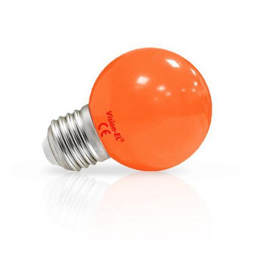 Ampoule LED E27 Couleur Bulb 1W Orange