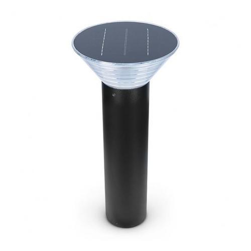 Potelet Solaire Conique LED 4W 3000K Noir 500mm
