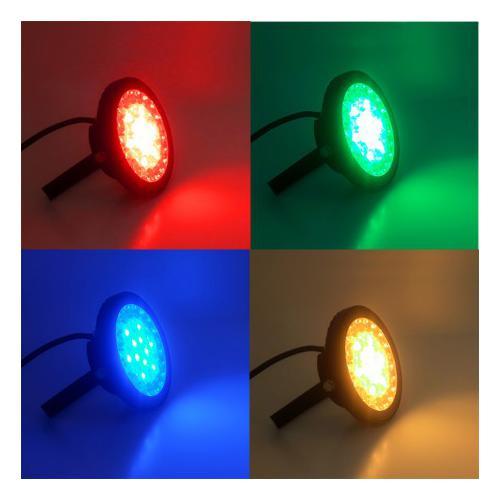 PROJECTEUR EXTERIEUR LED 230V 15W RGB + BLANC CCT