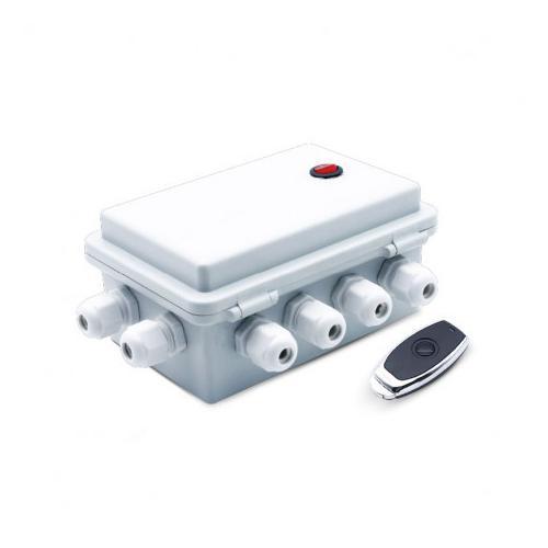 Boîte de contrôle ON/OFF 6 sorties pour PAR56 piscine