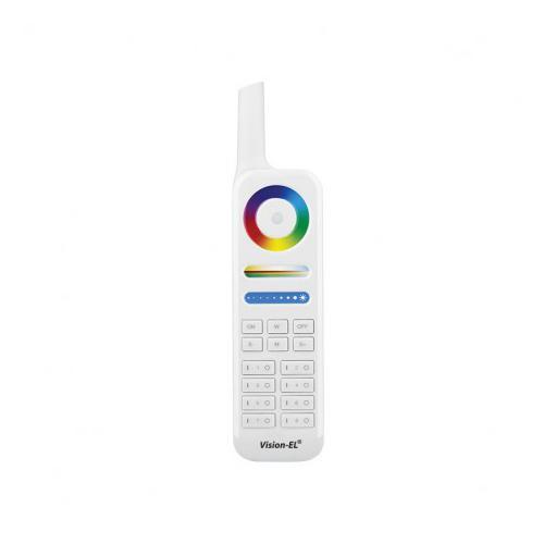 Télécommande RF gamme 8 zones RGB+W