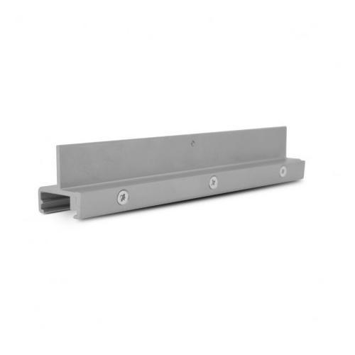 Fixation WSO 38 Aluminium argent (X 5)