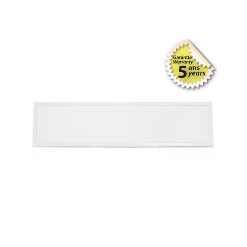 Plafonnier LED Blanc Backlit 1195x295 36W 3000K x2