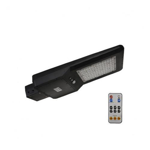 Tête de lampadaire solaire + Détecteur IR + Télécommande 40W 4000K