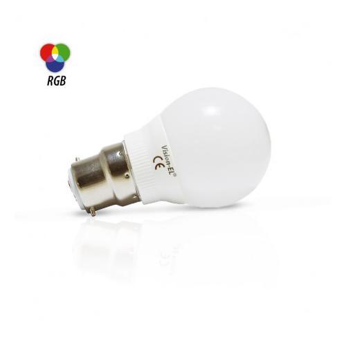 Ampoule LED B22 Bulb 2W RGB
