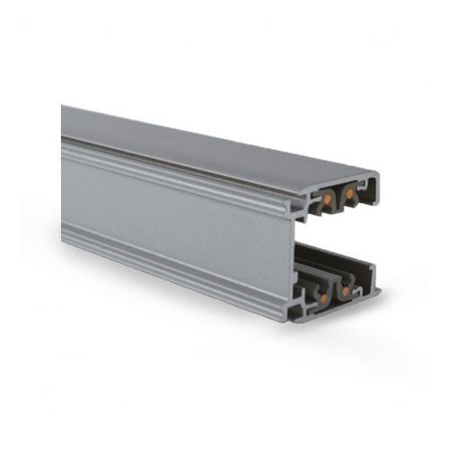 Rail Triphase pour Spots LED Gris 3 m x10