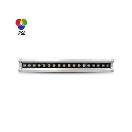 Wall Washer LED Controleur DMX Intégré 20W RGB