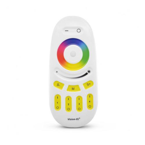 Télécommande RF gamme 4 zones RGB+W
